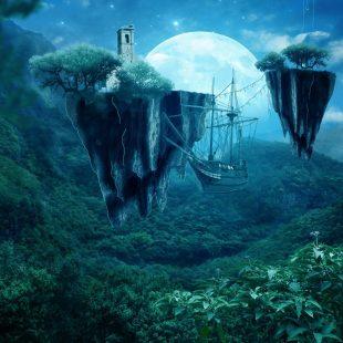 fantastical landscapes and fantastical architecture