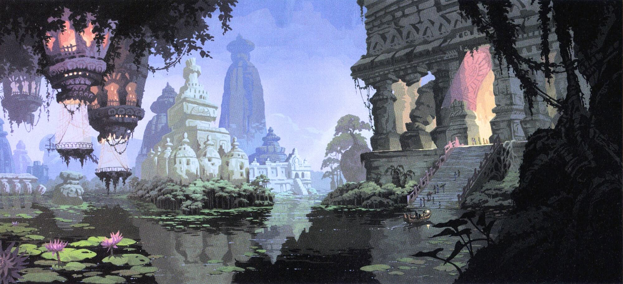 Concept Art From Disney's Atlantis the Lost Empire