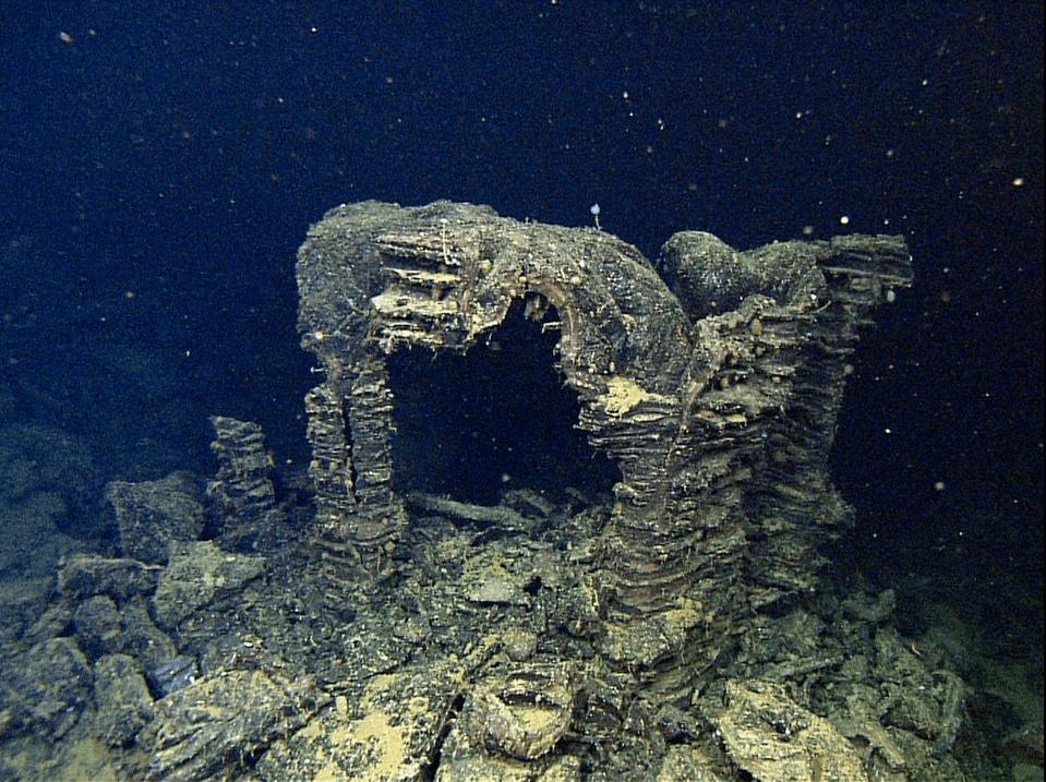 Otherworldly Incantations Deep Sea Worldbuilding Lava Arch