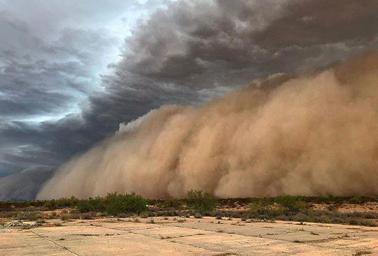Otherworldly Incantations Desert Worldbuilding Haboob