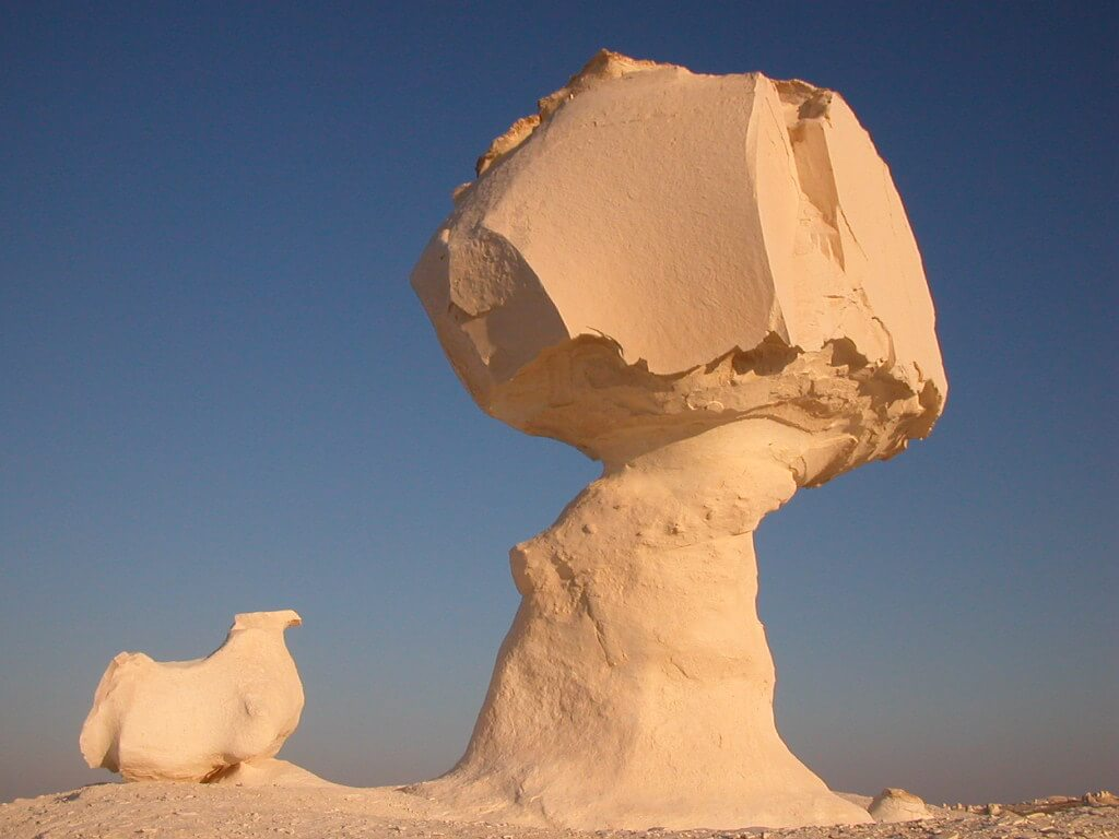 Otherworldly Incantations Desert Worldbuilding Mushroom Rock