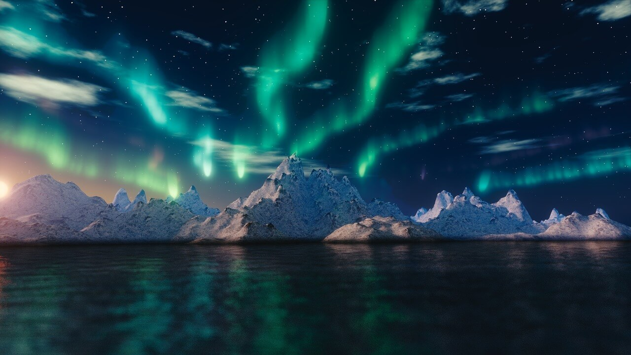 Otherworldly Incantations Tundra Worldbuilding Aurora Borealis