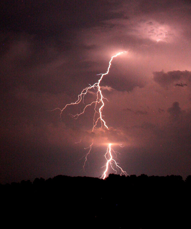 Otherworldly Incantations Weather Worldbuilding Cloud to Ground Lightning