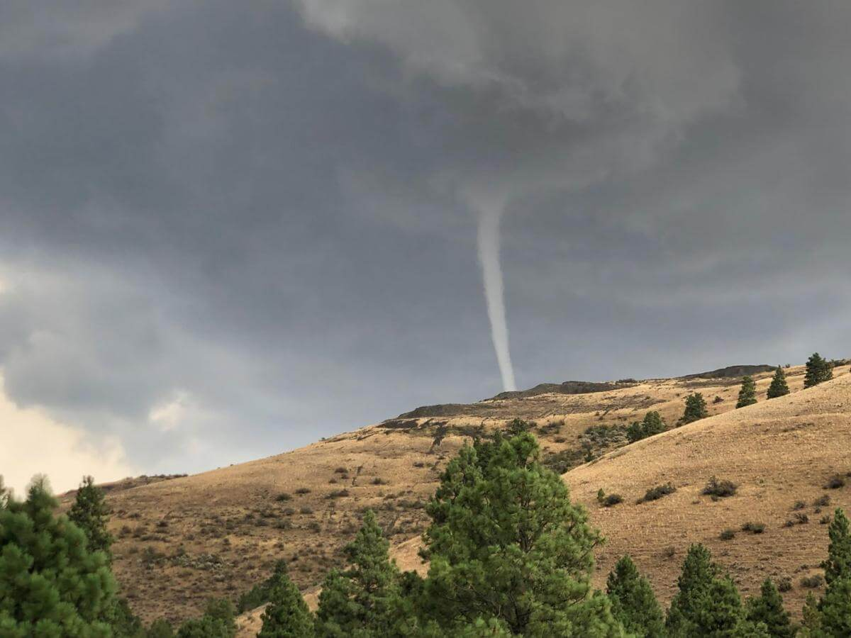 Otherworldly Incantations Weather Worldbuilding Funnel Cloud