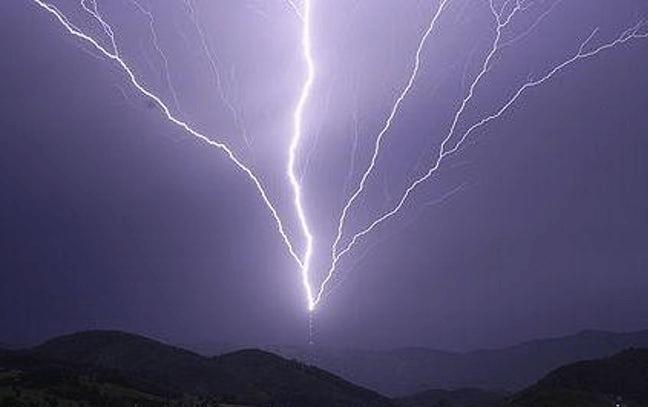 Otherworldly Incantations Weather Worldbuilding Ground to Cloud Lightning