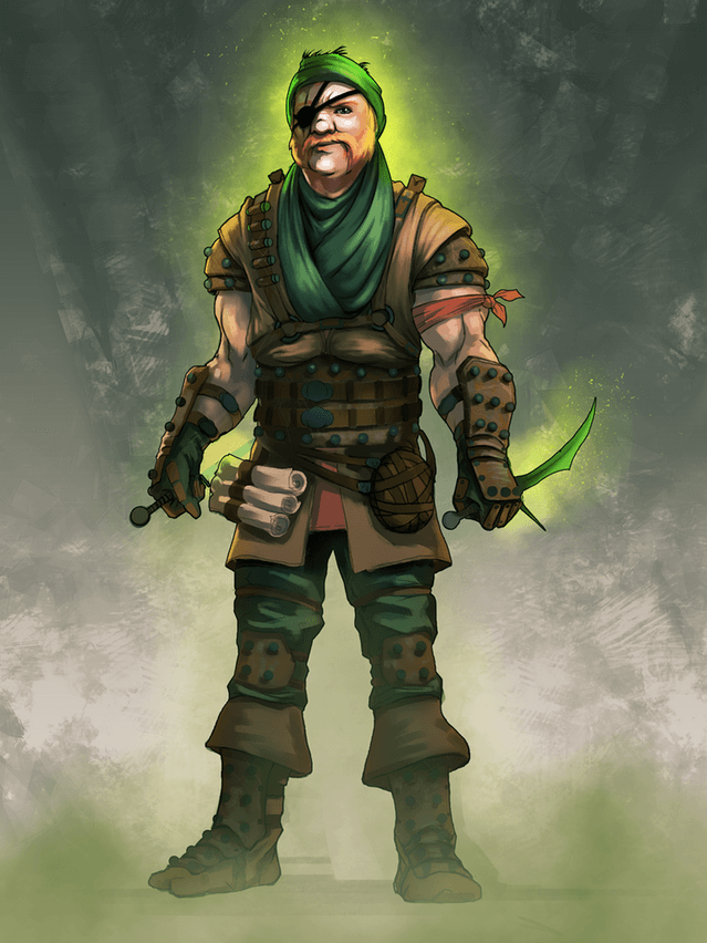 Wolgraff Divinity OS Kickstarter Art